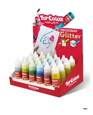 Picture of TOY COLOR GLITTER DECOGRAF 25 ML 1/24