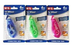Picture of M&G CORRECTION TAPE 6Mx5MM - TRI WHEEL