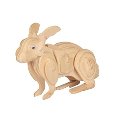 Picture of RABBIT 3D WOODEN PUZZLE
