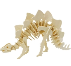 Picture of STEGOSAURUS 3D WOODEN PUZZLE