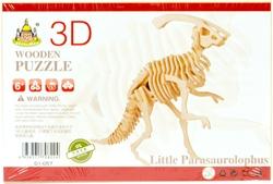 Slika od PARASAUROLOPHS 3D DRVENE PUZZLE