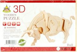 Slika od BIK 3D DRVENE PUZZLE