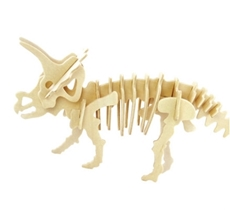 Picture of TRICERATOPS 3D WOODEN PUZZLE
