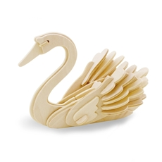 Picture of SWAN 3D WOODEN PUZZLE