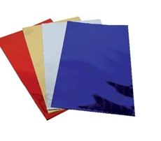 Picture of BLUE CELLOPHANE BAG 15x25 CM - 1/100