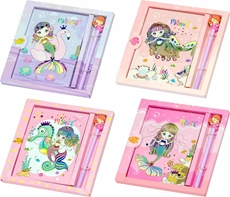 Picture of MERMAID MEMORIES NOTEBOOK WITH LOCK AND PEN