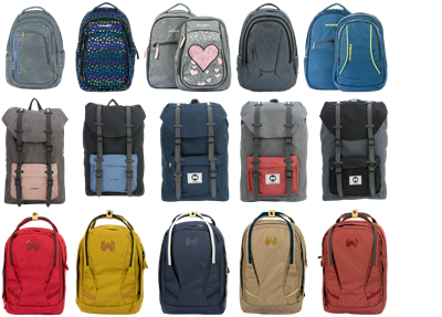Picture for category Backpacks and School bags