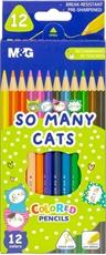 Slika M&G LESENE BARVICE SO MANY CATS 1/12