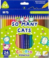 Slika M&G LESENE BARVICE SO MANY CATS 1/24