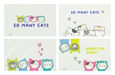 Slika M&G MAPA ZA DOKUMENTE Z ZADRGO A5 SO MANY CATS
